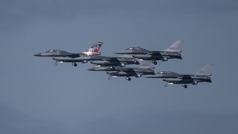 Тайван приземи Ф-16