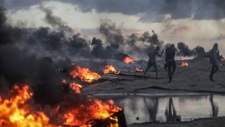 Десетки убити и ранени палестинци в Газа