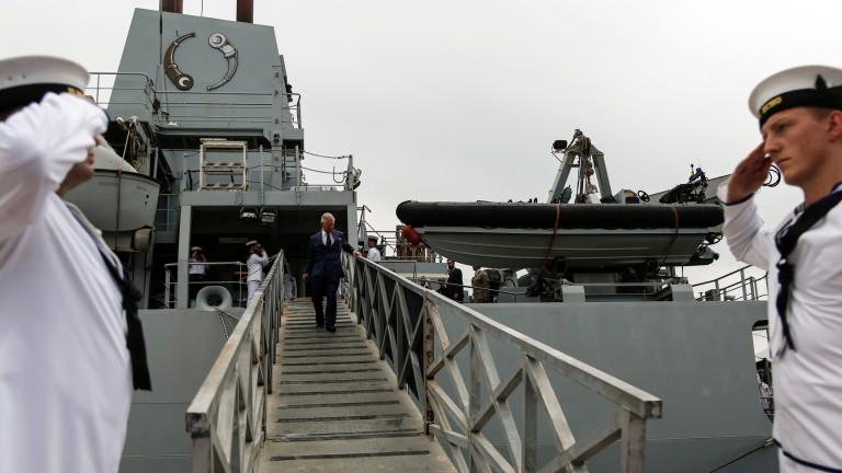 Британски разузнавателен кораб влезе в Черно море