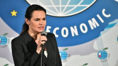 """Тихановска съжалява за срещата на Путин с """"узурпатора"""" Лукашенко"""