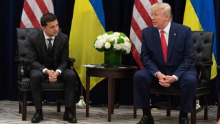 Тръмп отказал помощта за Украйна в деня, в който е разговарял със Зеленски