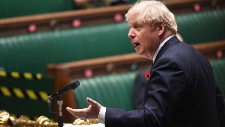 Борис Джонсън обеща британският военен флот да е отново най-мощният в Европа