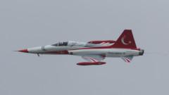Изтребител падна в Турция, пилотът загина