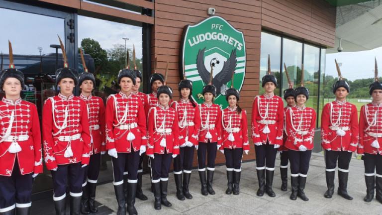 50 млади гвардейци от Румъния и България тренират в школата