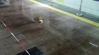"""Навесът на метростанция """"Ломско шосе"""" протече"""