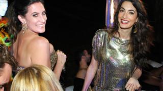 Амал Клуни блесна на парти