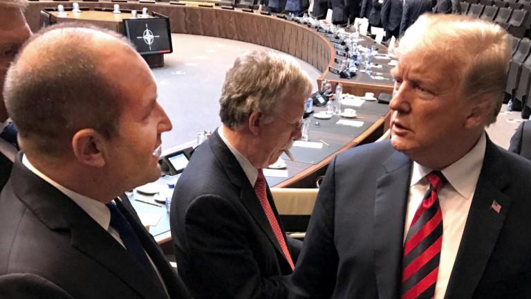 Радев поздрави Тръмп за 4 юли и отчете солидно стратегическото партньорство