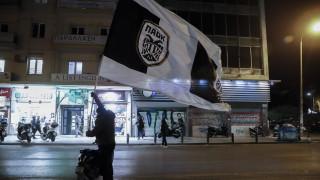 Фенове на ПАОК арестувани за нарушение на рестрикциите