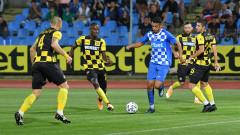 Монтана - Ботев (Пловдив) 3:1, обрат след голове на Бари, Цонков и Тасев