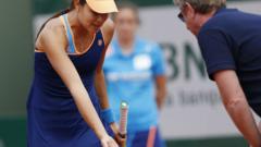 Иванович допусна обрат, след като треньорът й припадна в Австралия