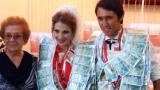 Играч на Дунав се венча, окичен с пачки (СНИМКА)
