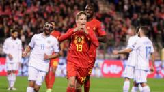 Очаквано: Белгия прегази Сан Марино и е сигурен участник на Евро 2020