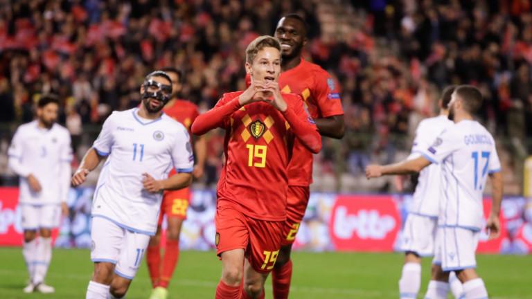 Националният отбор на Белгия постигна може би най-очаквания резултат в