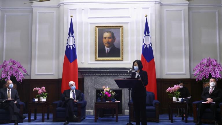 Тайван предупреди, че маневрите на Китай променят статуквото в Индо-Пасифика