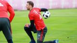 Мануел Нойер се завръща в игра за Байерн (Мюнхен)