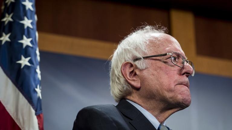 Снимка: Бърни Сандърс отново се кандидатира за президент на САЩ