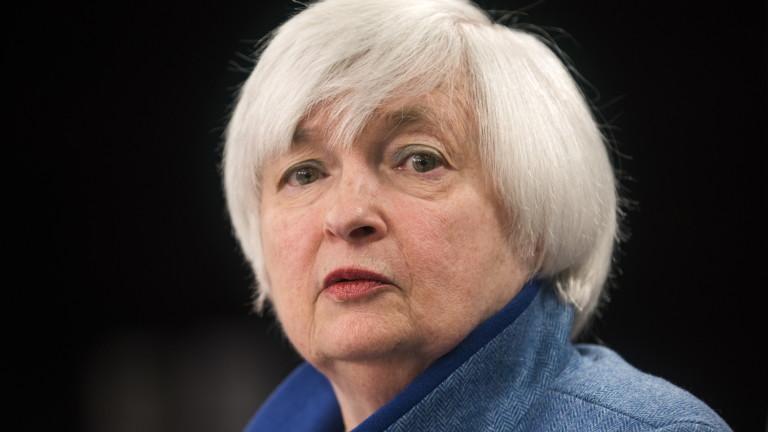 Йелън: По-високи лихви ще са добре дошли за американската икономика