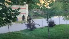 Киргизките сили за сигурност атакуваха повторно дома на експрезидента