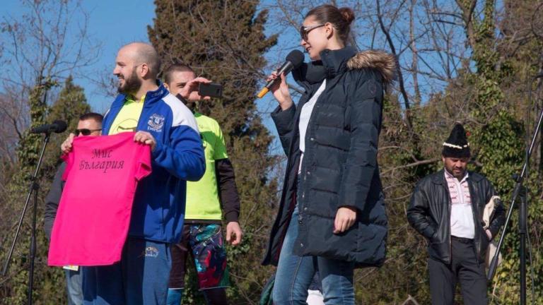 Миската Габи Кирова се включи в спортна инициатива (СНИМКИ)