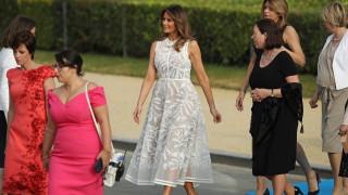 Мелания Тръмп дава уроци по стил на Европа