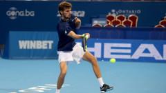 Александър Лазаров се класира на четвъртфинал в Тунис