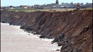 Климатичните промени рушат британското крайбрежие