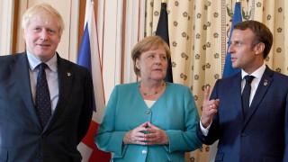 Макрон, Меркел и Джонсън искат да поговорят с Ердоган в Лондон