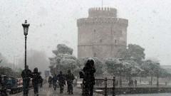 Протест на шофьорите в Солун