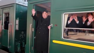 Ким Чен-ун хвана влака за Виетнам