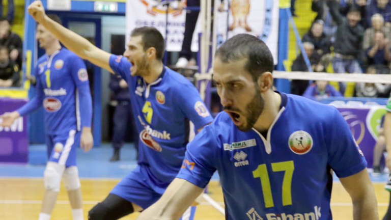 Волейболният Левски с три нови попълнения