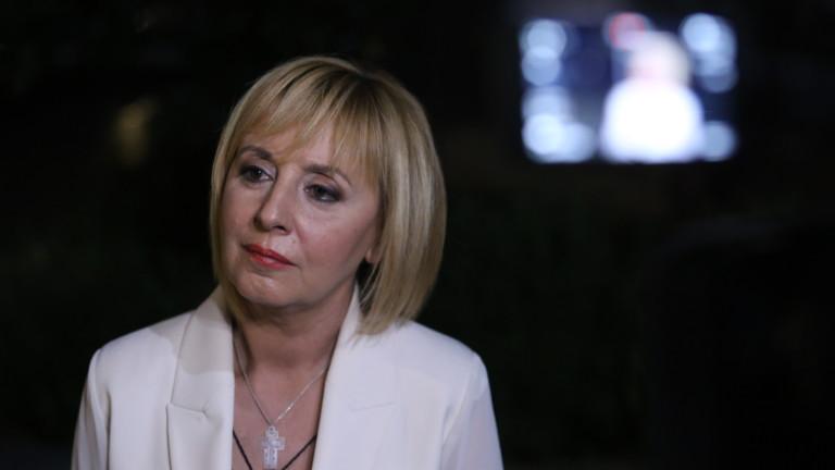 Манолова: Бяхме свидетели на най-честните избори досега