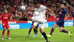 Севиля спечели с 1:0 домакинството си на Леванте в Ла Лига