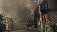 Един загинал е 58 пострадали от голям пожар в руския град Ростов на Дон