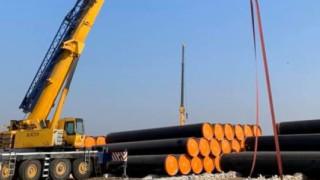 """Пристигнаха мегамашините за строежа на """"Балкански поток"""""""