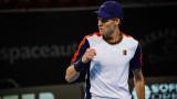 Яник Синер ще играе на 1/4-финал в Антверпен