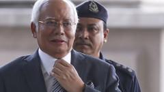 Арестуваха експремиера на Малайзия Наджиб Разак