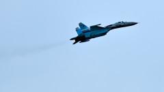 Изтребител Су-27 на Русия пак прогони разузнавателен самолет на САЩ над Черно море