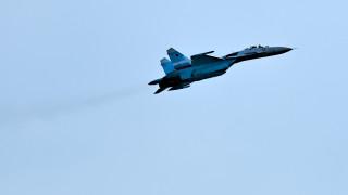 Руски Су-27 прихвана самолет на ВМС на Италия над Черно море