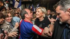 """Партията на Марин льо Пен обяви знамето на ЕС за """"олигархичен парцал"""""""