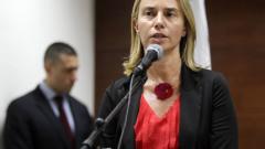 Могерини се обяви за създаването на независима палестинска държава