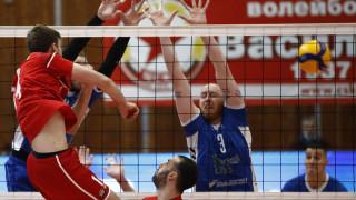 Левски с категоричен успех срещу ЦСКА в отложеното волейболно дерби