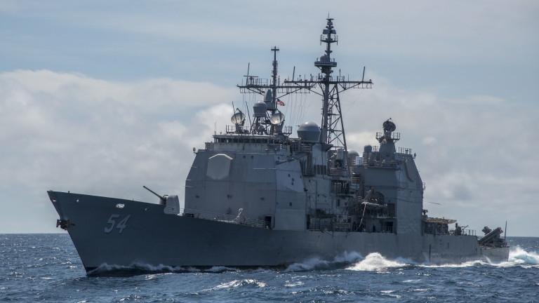 7-ми флот на САЩ прати кораб в Тайванския проток, за да покаже ангажираност