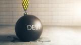 Брутният външен дълг на България нарастна до 37,9 млрд. евро, а държавният до 14,91 млрд. евро