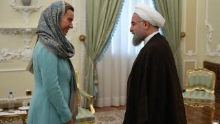 Ситуацията в Сирия обсъди Могерини в Техеран