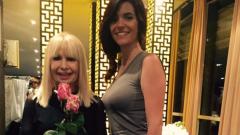 Ива Софиянска празнува с Лили Иванова