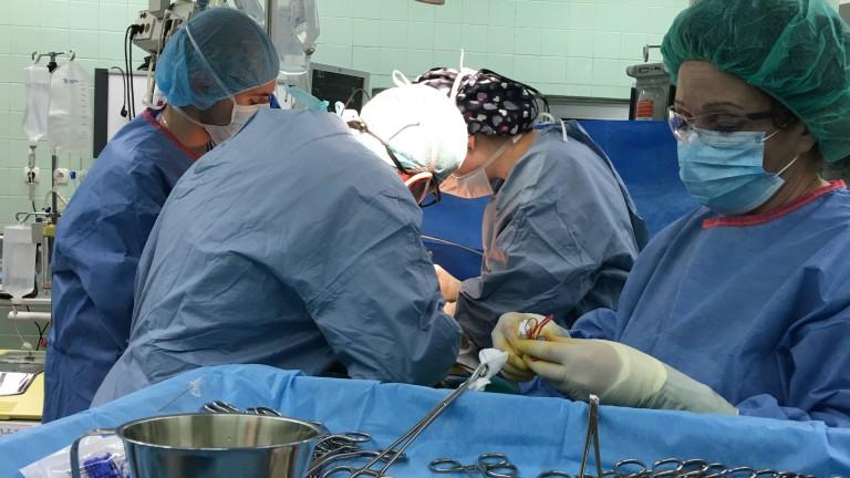 Нова трансплантация на черен дроб във ВМА