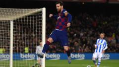 Гол от дузпа на Лео Меси върна Барселона на победния път