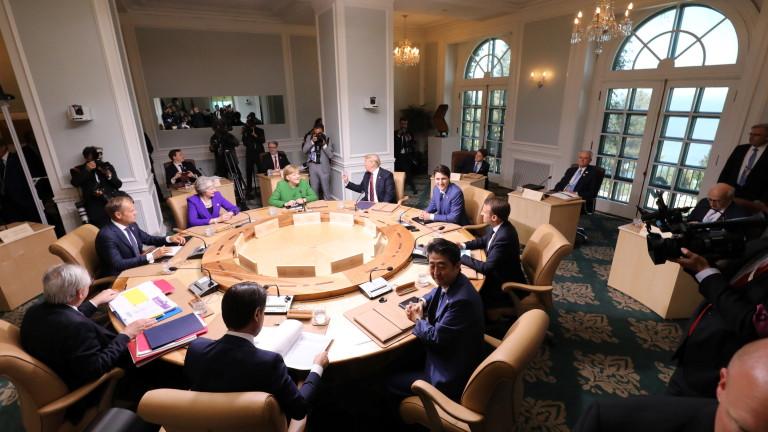Г-7 създава механизъм за борба с пропагандни и хибридни атаки