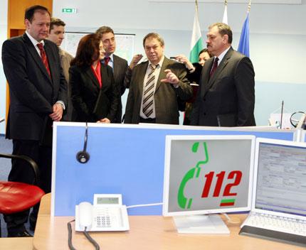Три министерства си сътрудничат с телефон 112