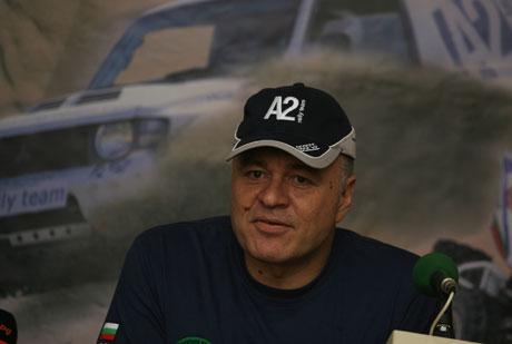 Тодор Христов с македонски лиценз на Дакар